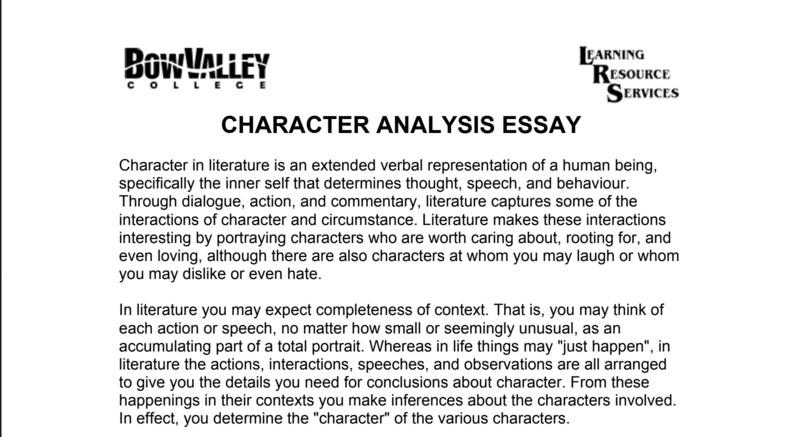 analytical essay mẫu 1
