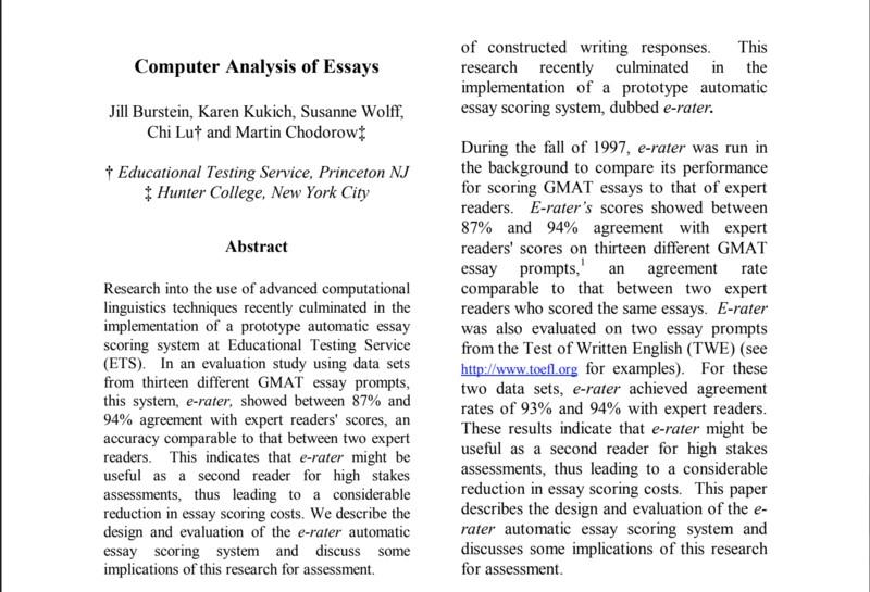 analytical essay mẫu 2