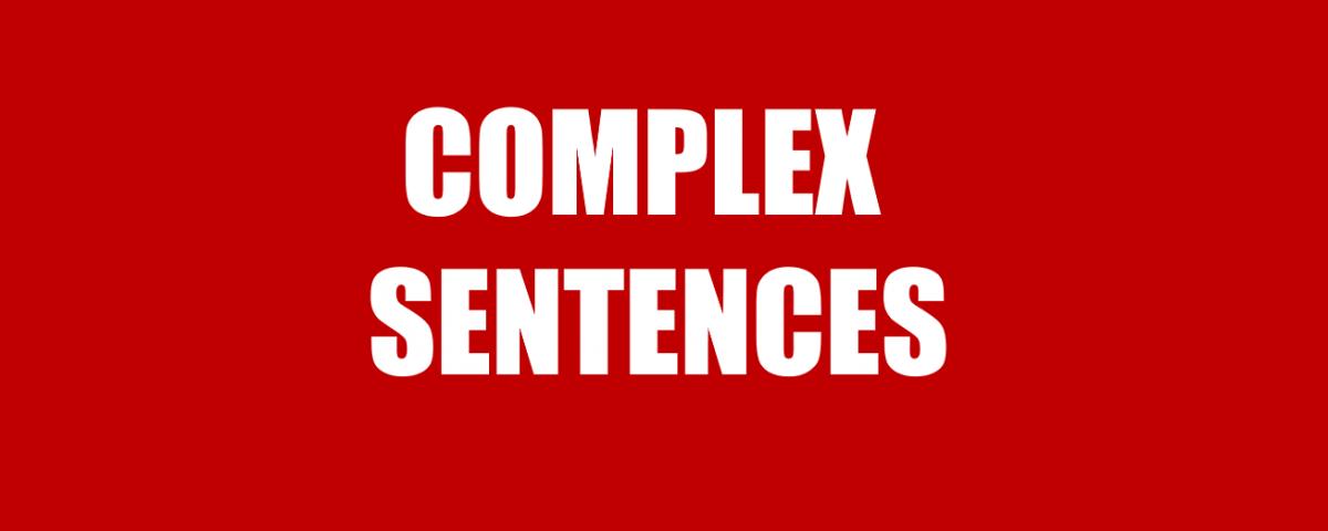 câu phức trong tiếng Anh