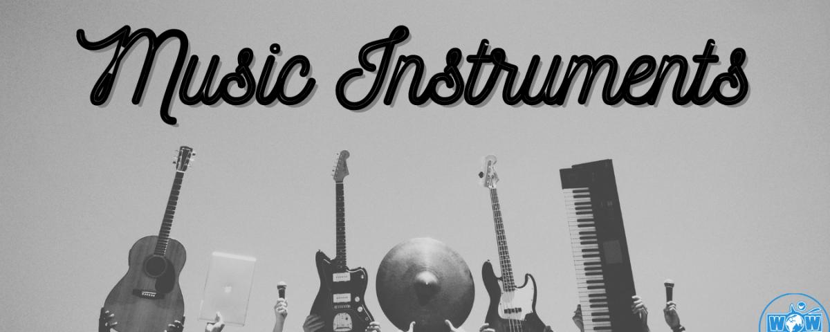 Các loại nhạc cụ bằng tiếng Anh
