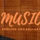 Từ vựng tiếng Anh về Âm nhạc