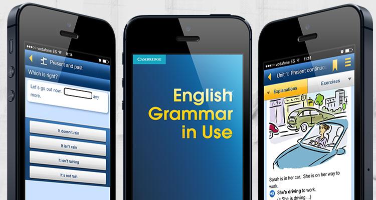 Ứng dụng học từ vựng tiếng anhEnglish Grammar in Use
