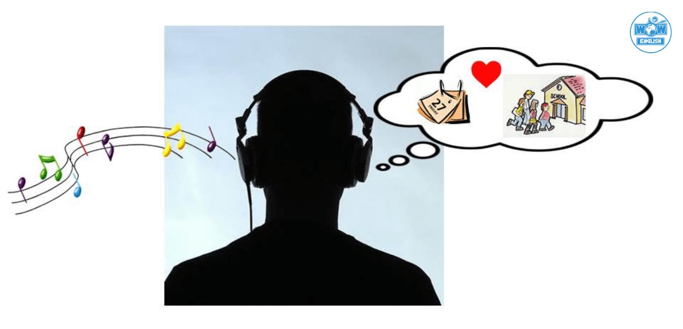 Học Tiếng Anh bằng âm nhạc - trí nhớ